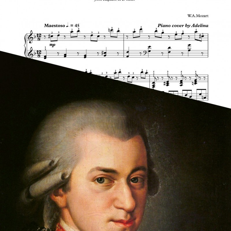"""Lacrimosa"" – Mozart – Piano Sheet Music"
