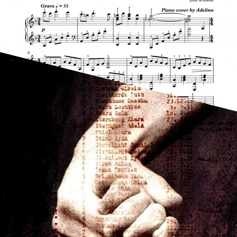 """Schindler's list"" – Movie Theme – Piano Sheet Music"