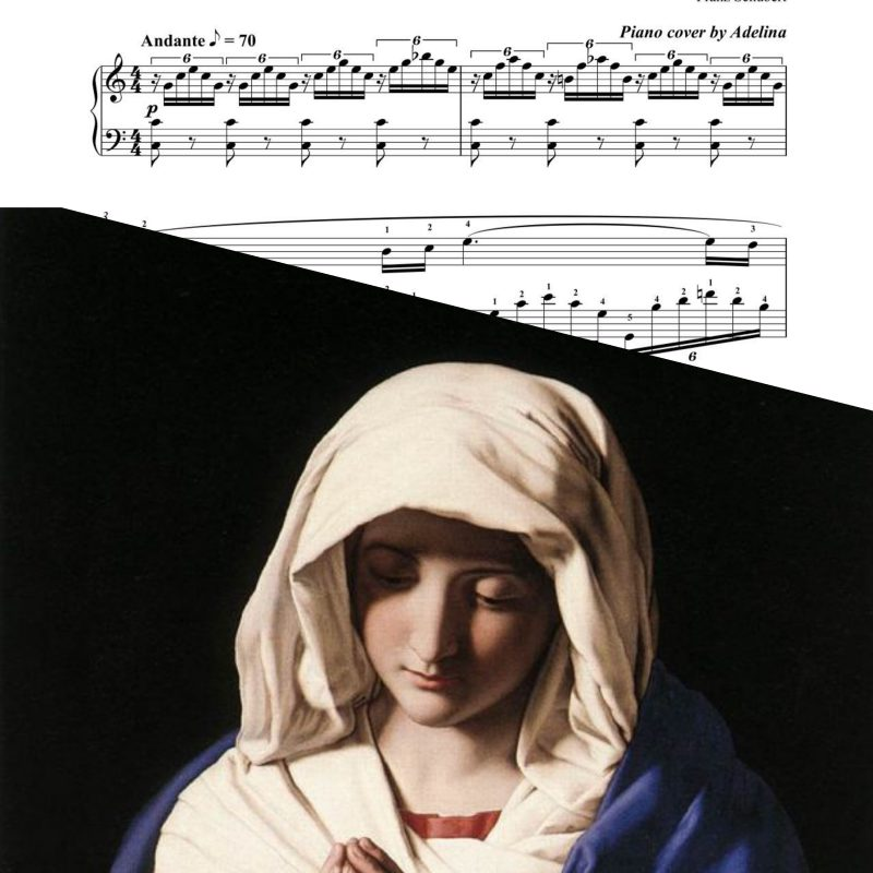 """Ave Maria"" – Schubert – Piano Sheet Music"