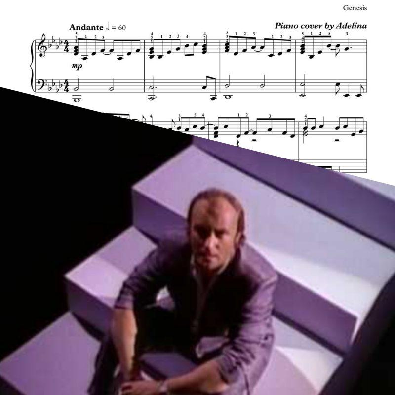 """In Too Deep"" – Genesis – Piano sheet music"
