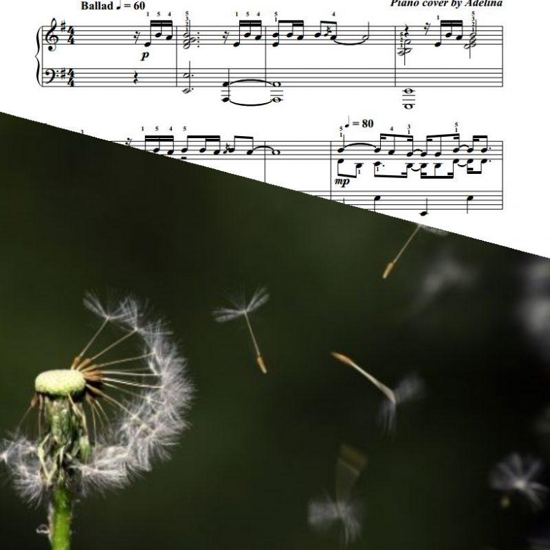 """Fragile"" – Sting – Piano Sheet Music"