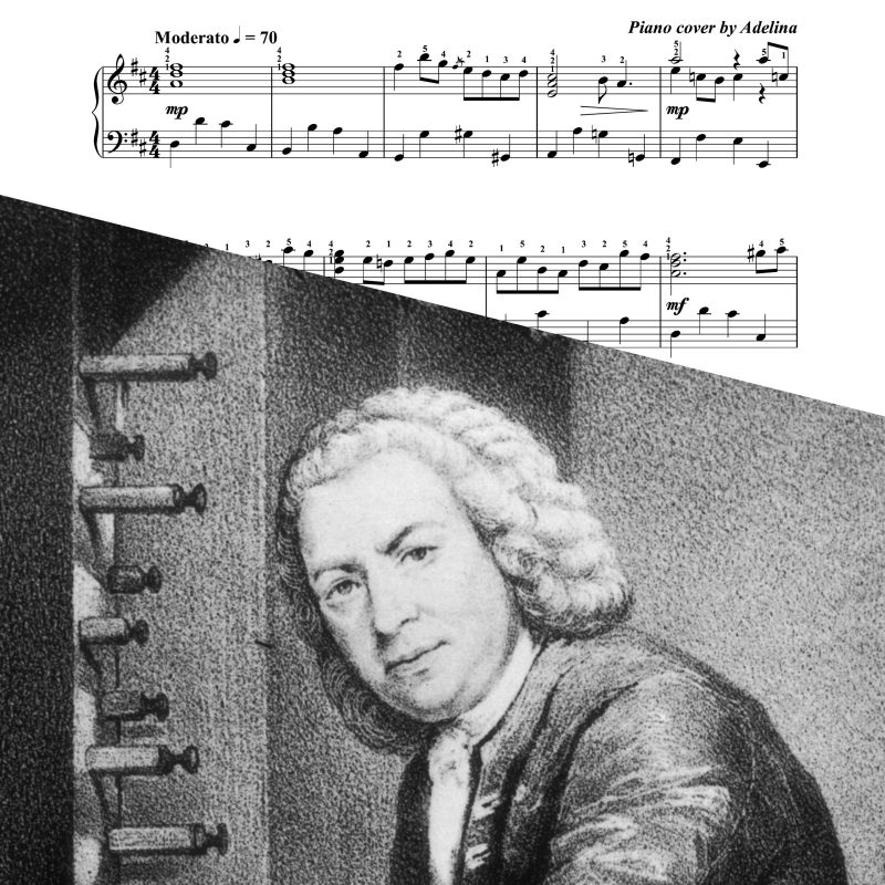 """Air on the G string"" – Bach – Piano Sheet Music"
