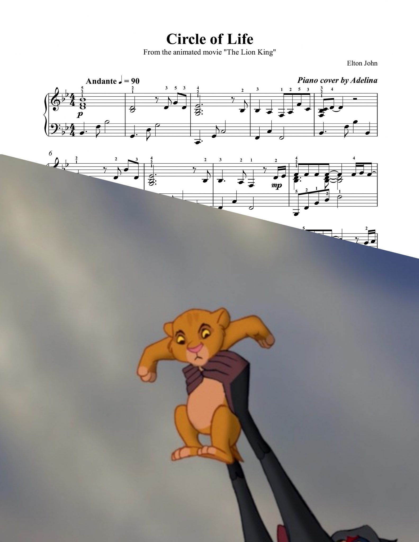 Lyrics for the lion king opening song