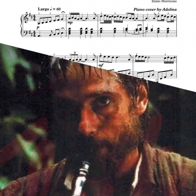 """Gabriel's oboe"" – Ennio Morricone – Piano Sheet Music"
