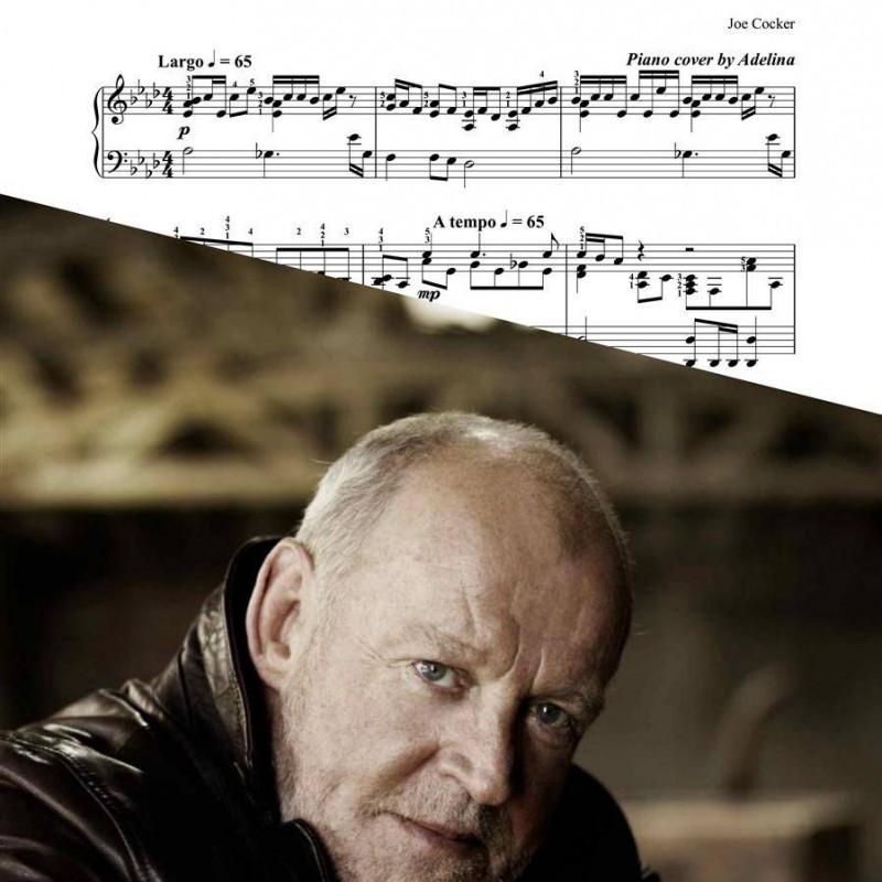 """""""You are so beautiful"""" – Joe Cocker – Piano Sheet Music"""