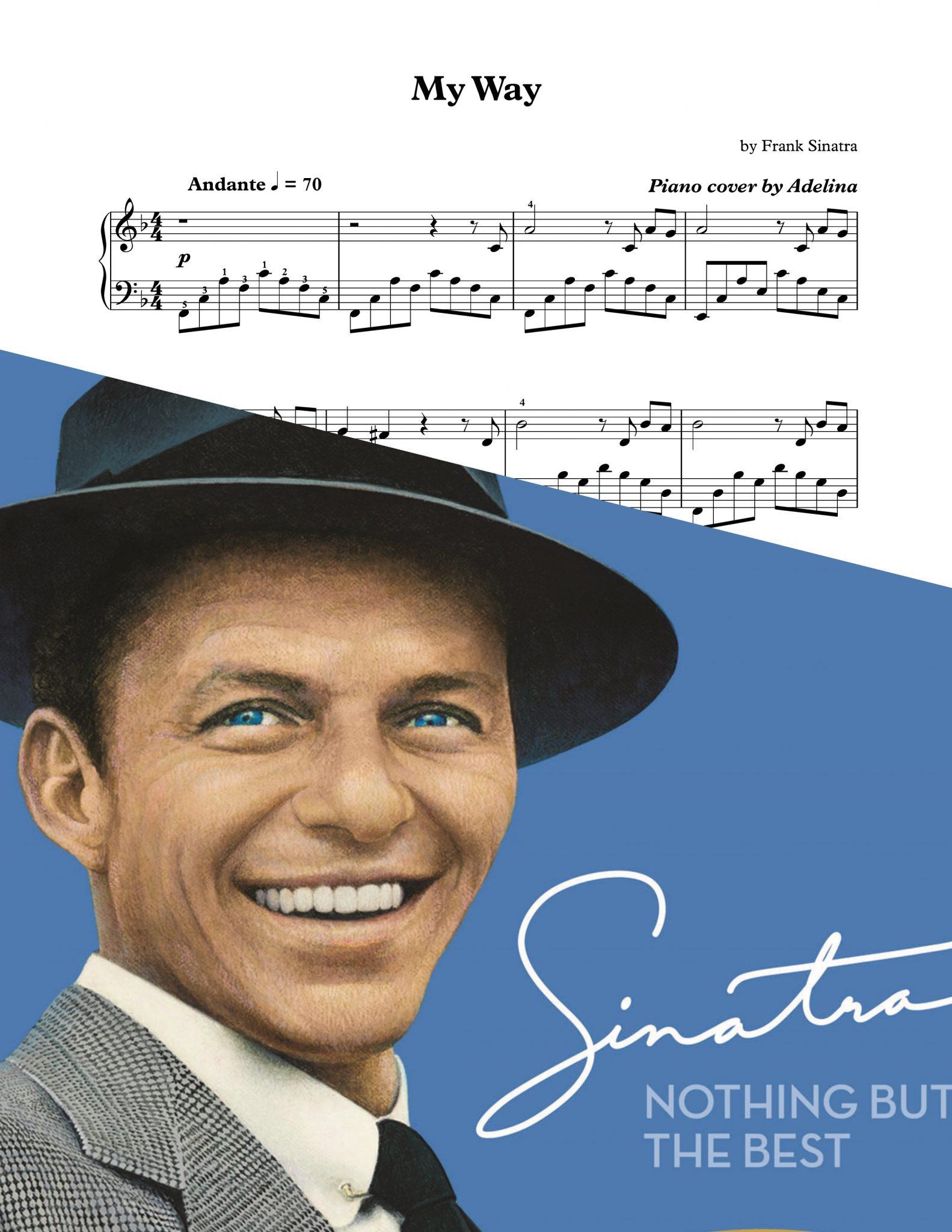 My Way Frank Sinatra Piano Sheet Music