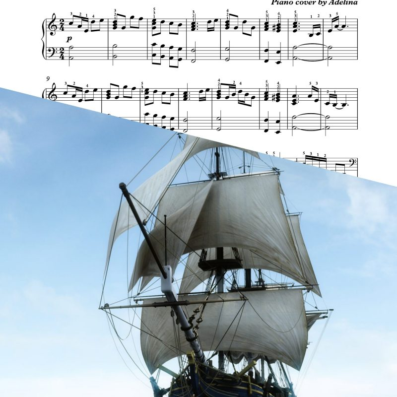 """Sailing ships"" – Whitesnake – Piano Sheet Music"
