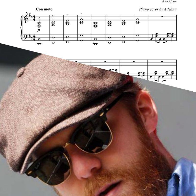 """""""Too close"""" – Alex Clare – Piano Sheet Music"""