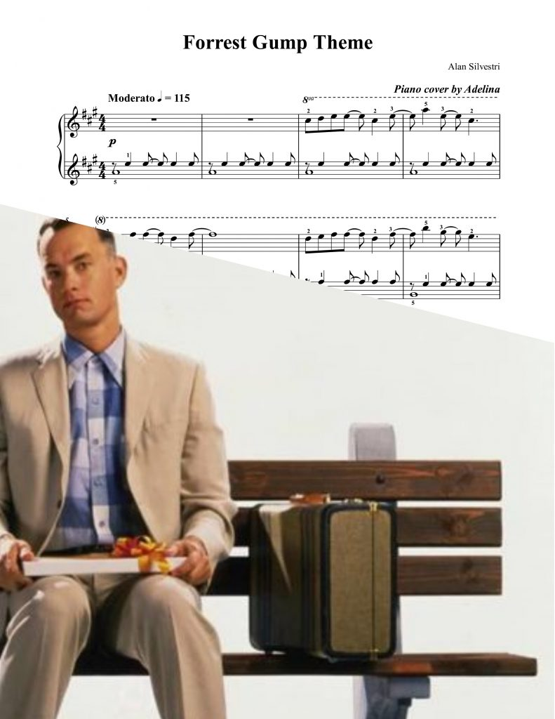 how to play forrest gump theme on piano