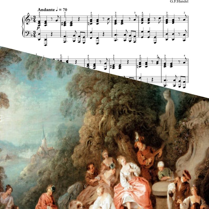 """Sarabande"" – Handel – Piano Sheet Music"