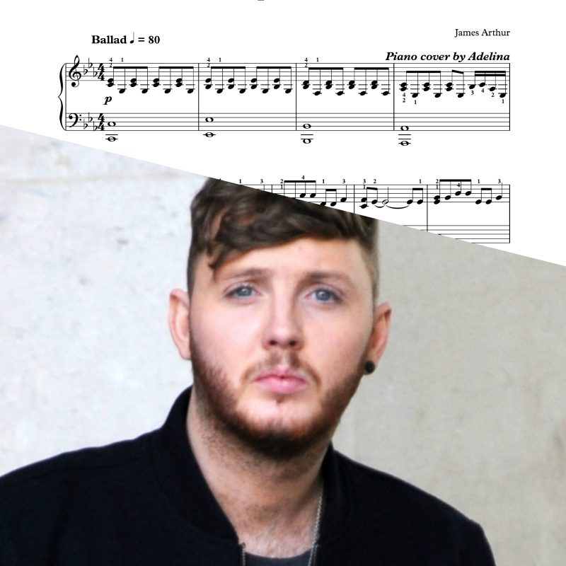 """Impossible"" – James Arthur – Piano Sheet Music"