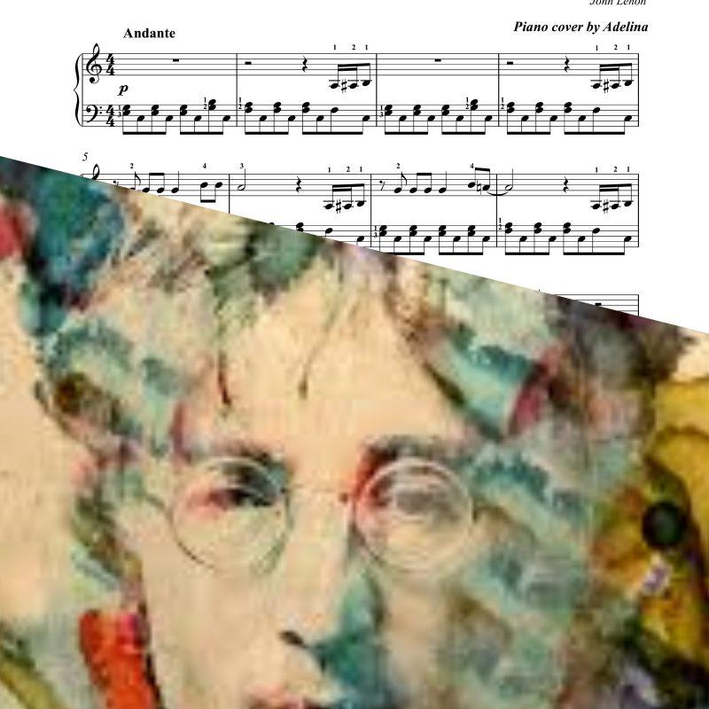 """Imagine"" – John Lenon – Piano Sheet Music"