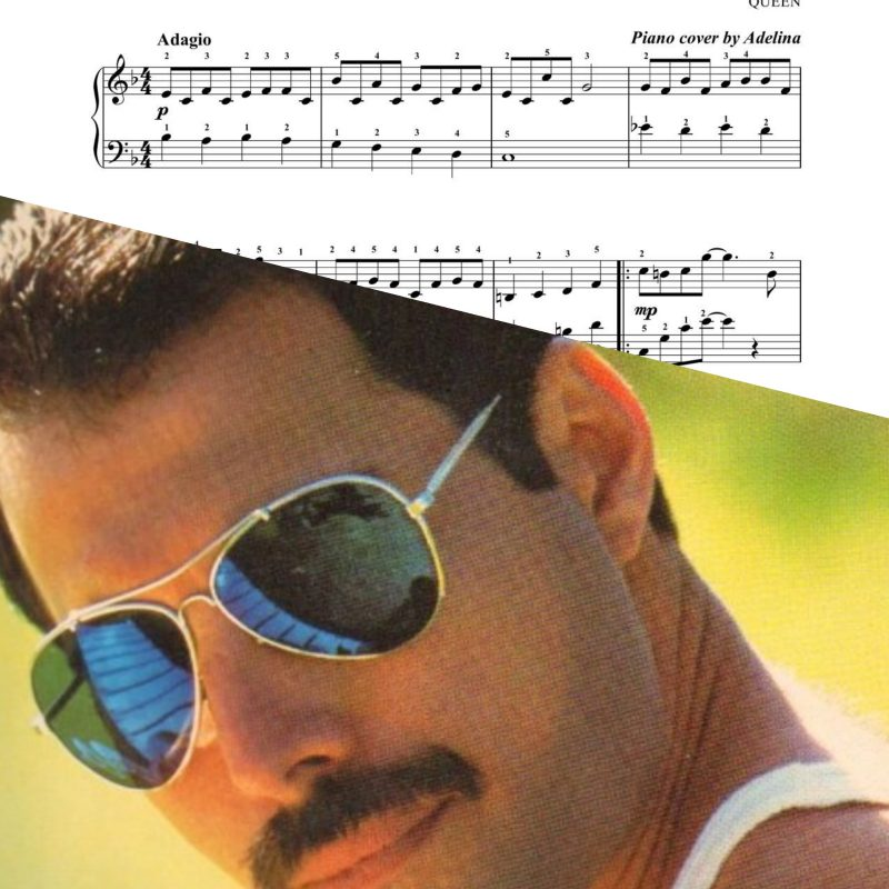 """Love of my life"" – Queen – Piano Sheet Music"
