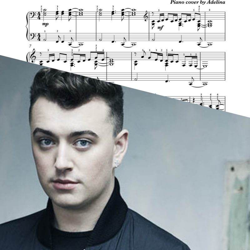 """Stay with me"" – Sam Smith – Piano Sheet Music"