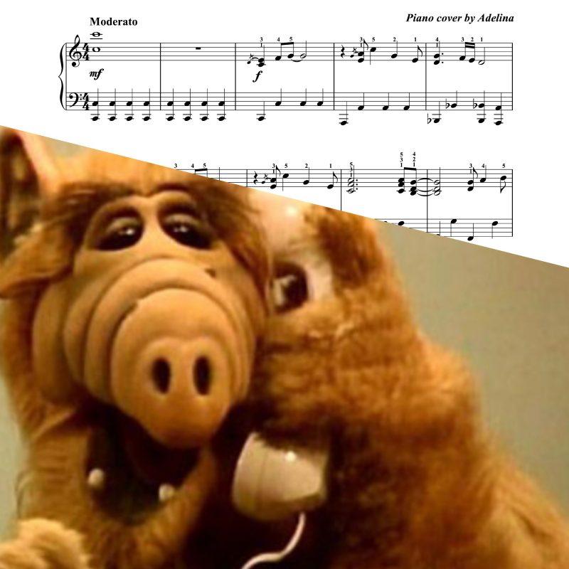 """Alf"" – Theme song – Piano Sheet Music"