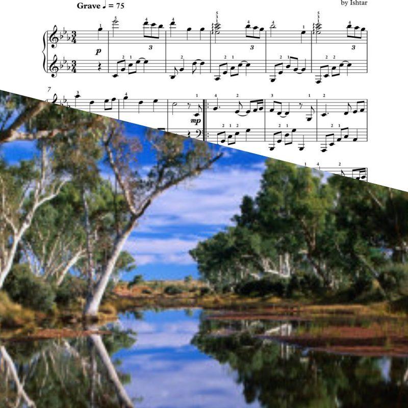 """Chorshat Ha'ekaliptus"" – Ishtar – Piano Sheet Music"