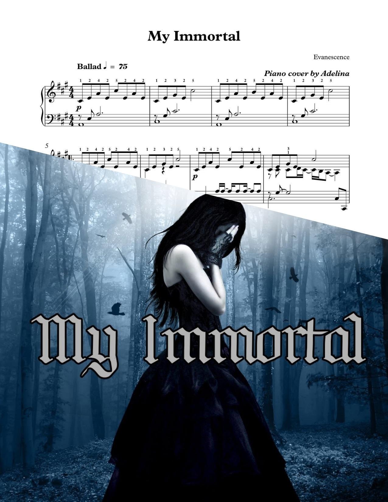 übersetzung My Immortal