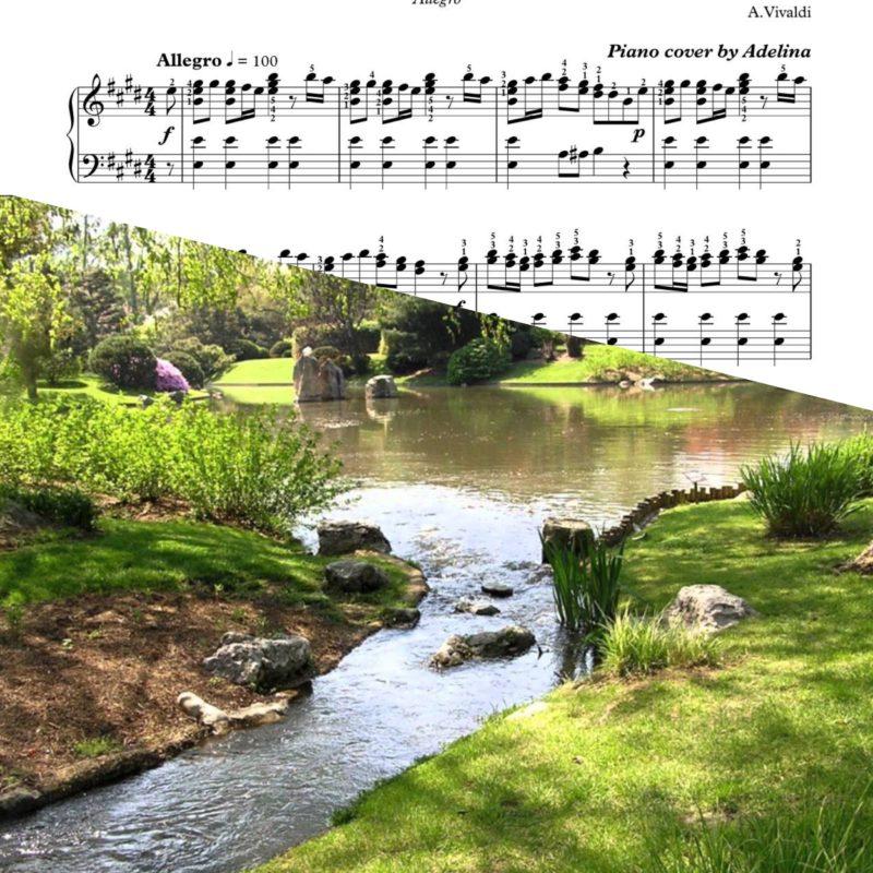 """Spring""- ""Four Seasons""- Vivaldi – Piano Sheet Music"