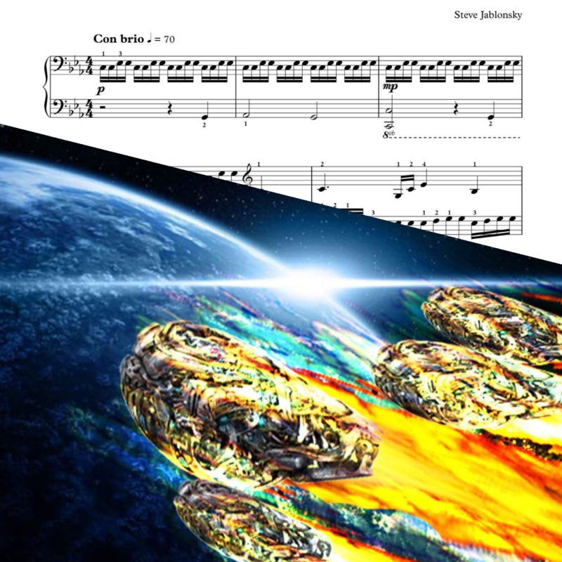 """Arrival To Earth"" – Transformers – Piano Sheet Music"