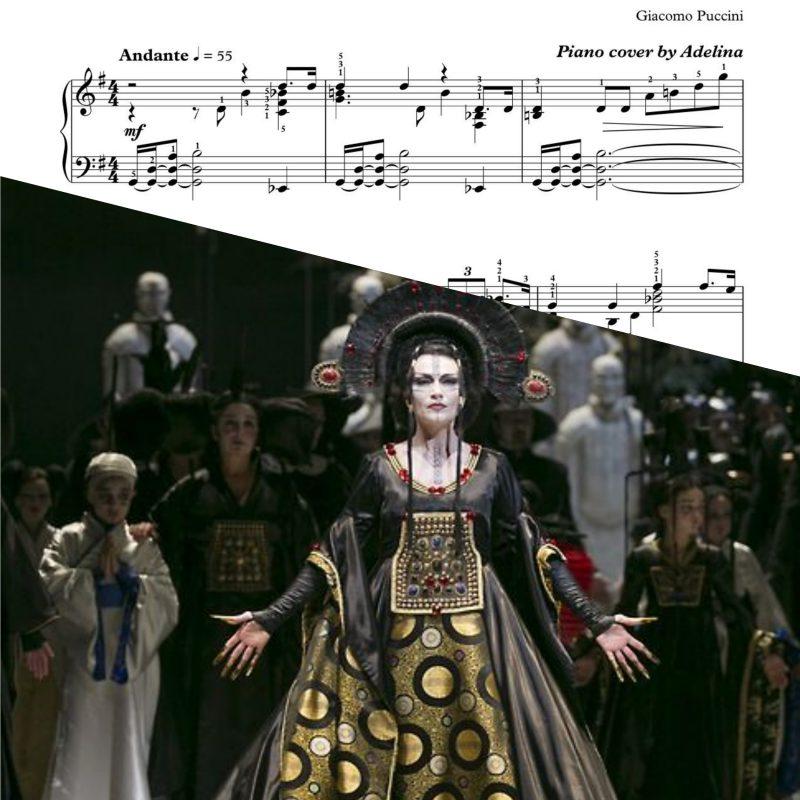"""Nessun Dorma"" – Puccini-Turandot – Piano Sheet Music"
