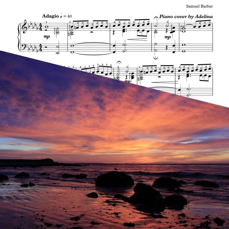 """Adagio for Strings"" – Samuel Barber – Piano Sheet Music"