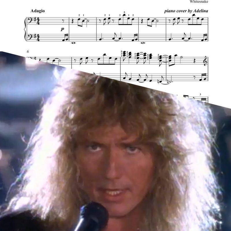 """""""Is This Love"""" – Whitesnake – Piano Sheet Music"""
