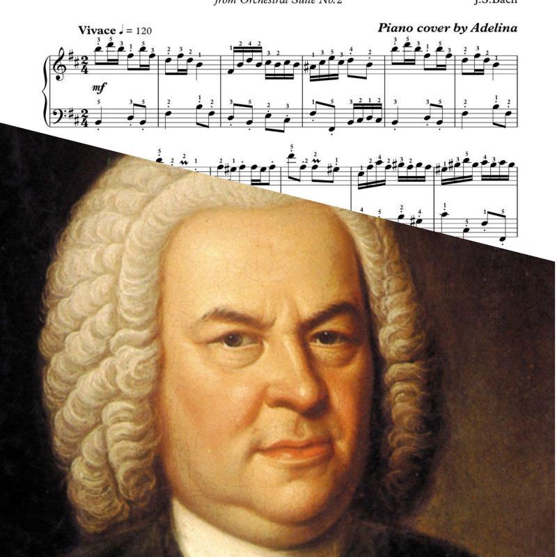 """""""Badinerie"""" – Johann Sebastian Bach – Piano Sheet Music"""