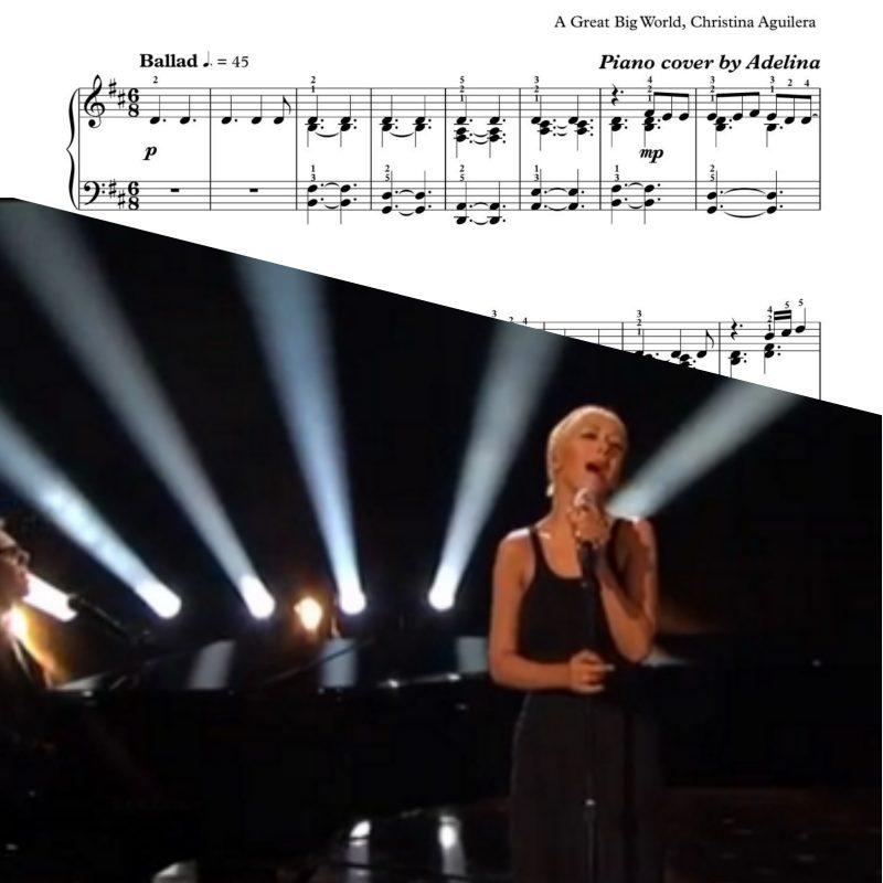 """Say Something"" – A Great Big World, Christina Aguilera"
