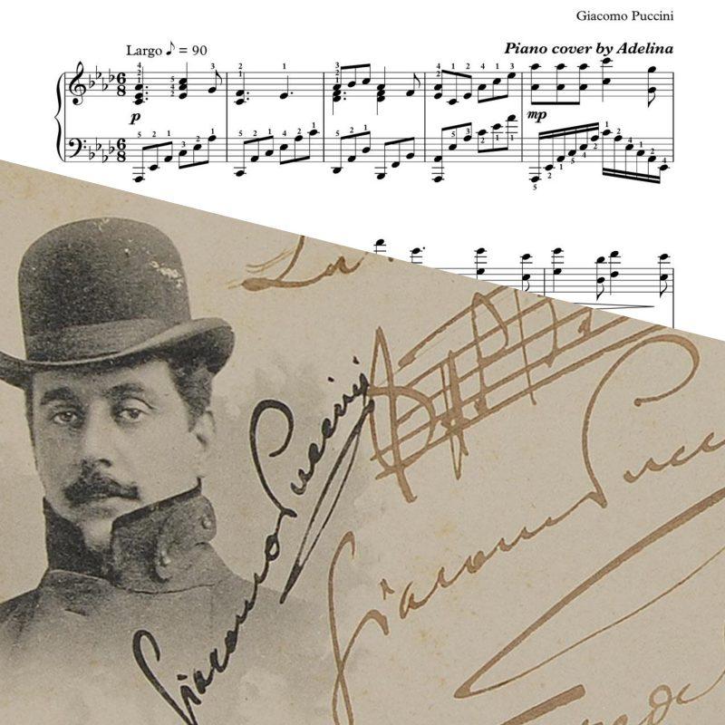 """""""O Mio Babbino Caro"""" – Giacomo Puccini – Piano Sheet Music"""