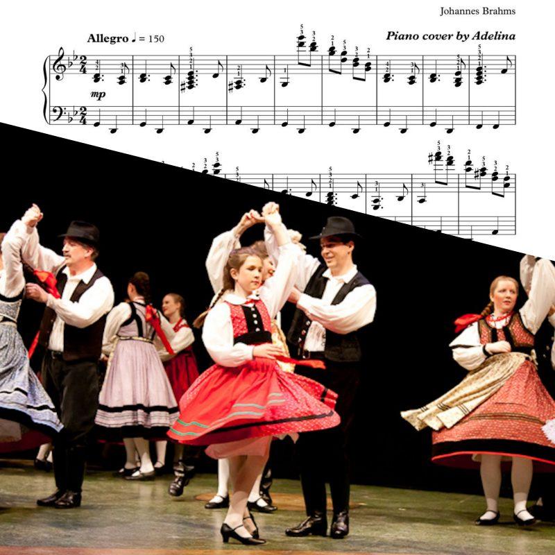 """""""Hungarian Dance No. 1"""" – Brahms –  Piano sheets"""