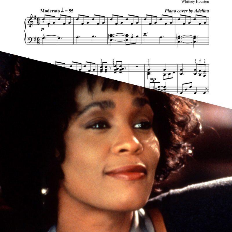 """""""I Have Nothing"""" – Whitney Houston – Piano sheet music"""