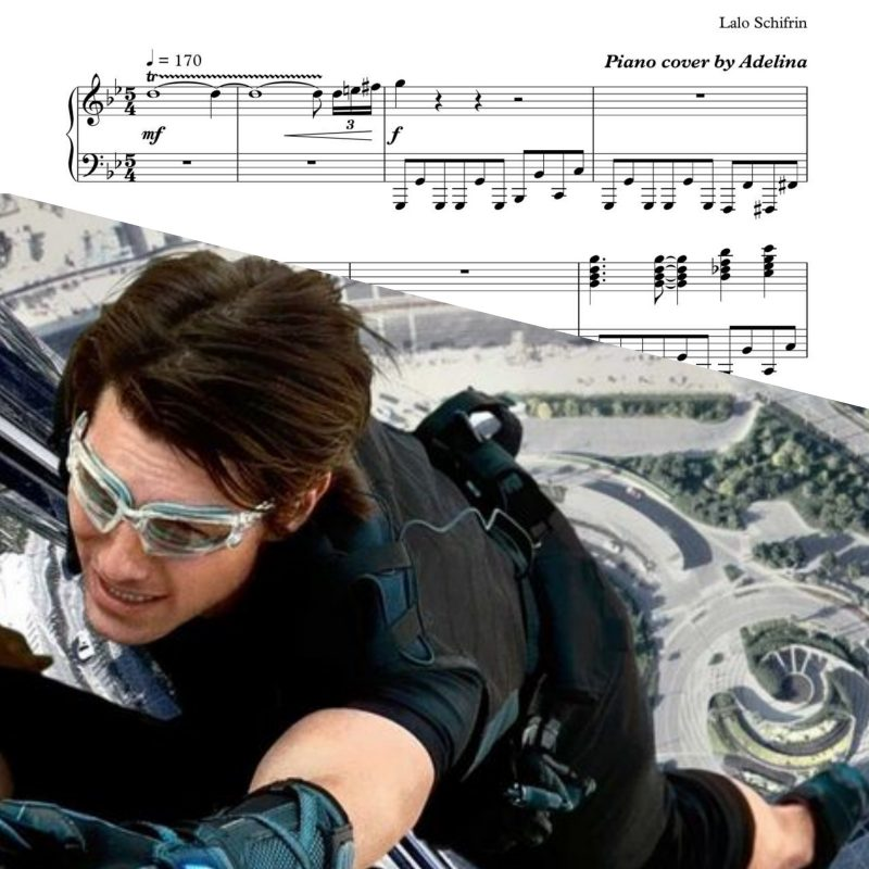 """Mission Impossible"" Theme – Piano Sheet Music"