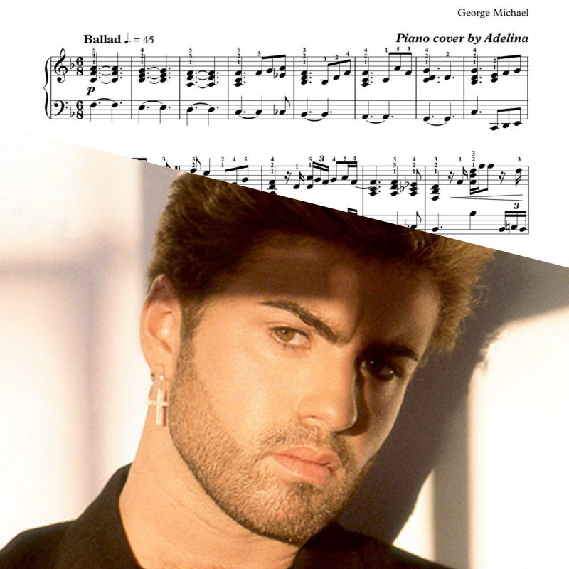 """One More Try"" – George Michael – Piano Sheet Music"