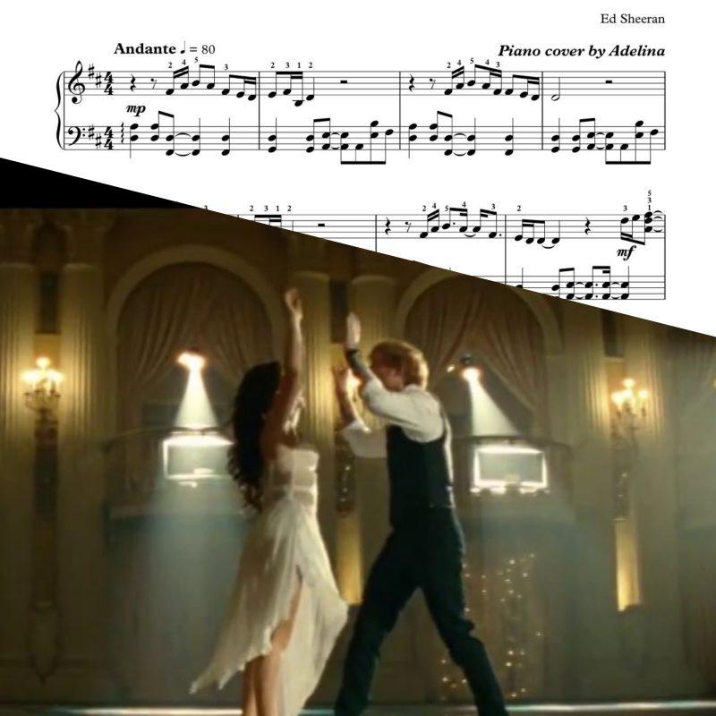 """""""Thinking Out Loud"""" – Ed Sheeran – Piano sheets"""