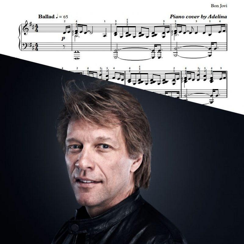 """Thank You for Loving Me"" – Bon Jovi – Piano sheets"