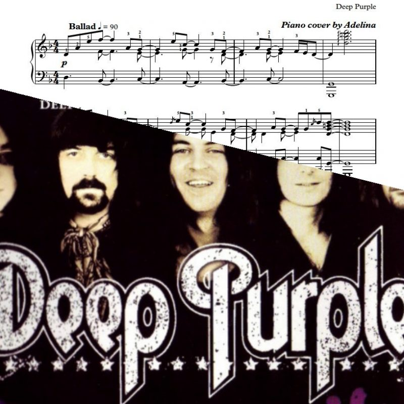 """Sometimes I Feel Like Screaming"" – Deep Purple – Piano Sheets"