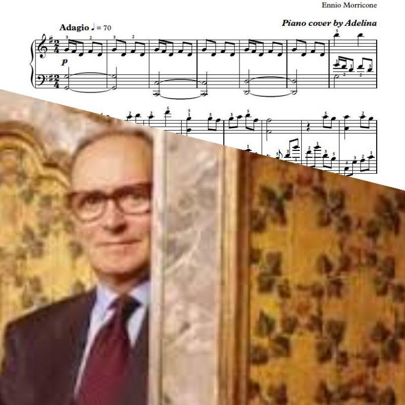 """Un Amico""- Ennio Morricone – Piano Sheet Music"