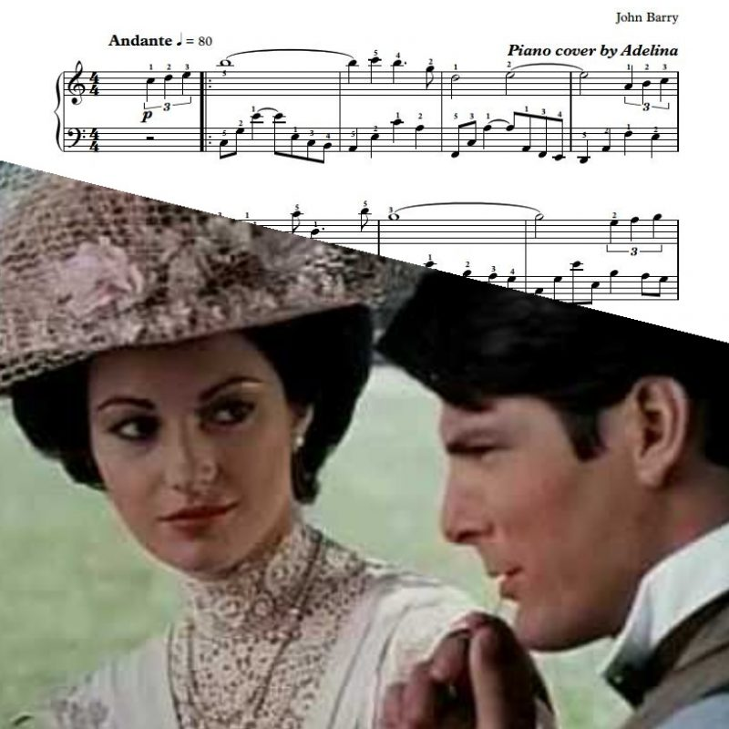"""Somewhere In Time"" – John Barry – Piano Sheet Music"