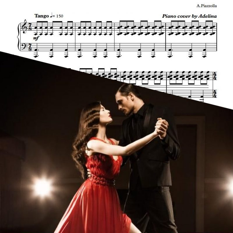 """Libertango"" – Piazzolla – Piano Sheet Music"