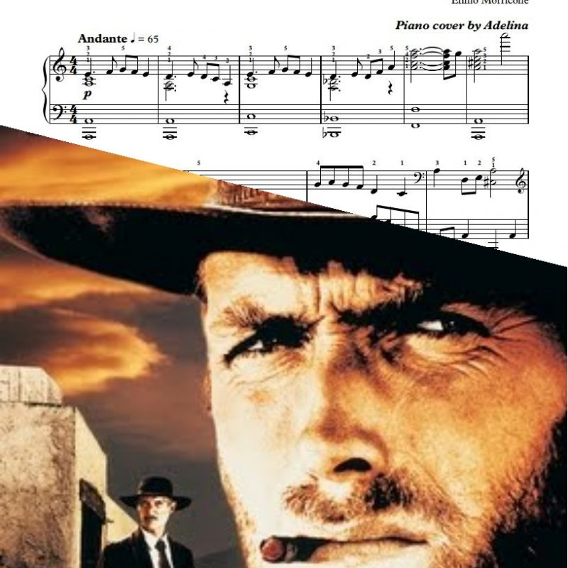 """The Vice of Killing"" – Ennio Morricone – Piano Sheets"
