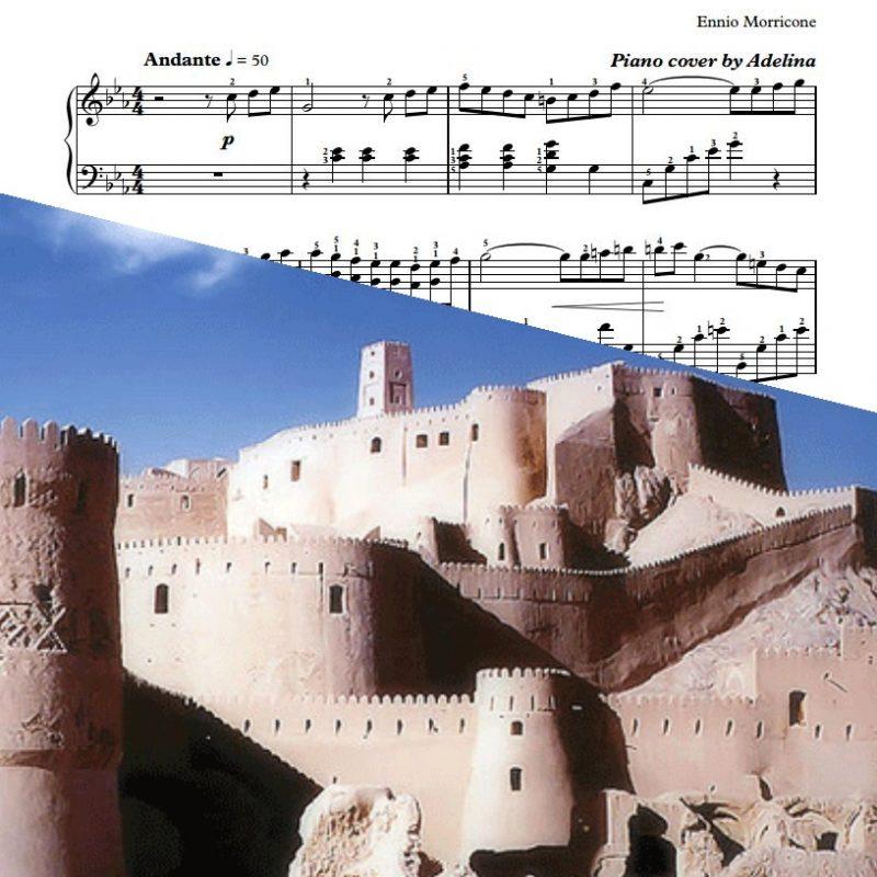 """""""La Casa e Giovinezza"""" – Ennio Morricone – Piano Sheet Music"""