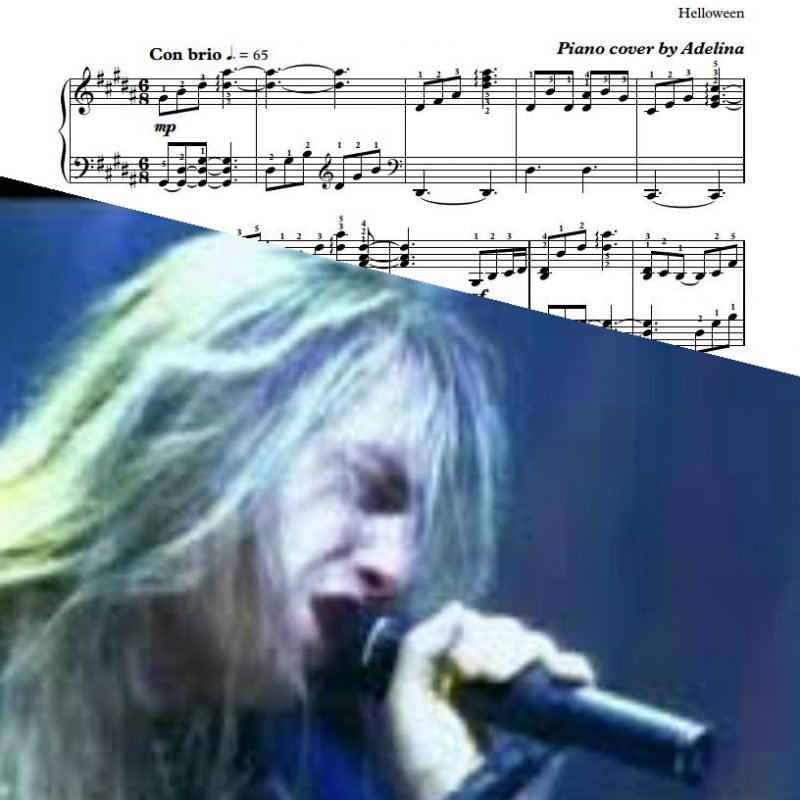 """""""Forever And One"""" – Helloween – Piano Sheet Music"""