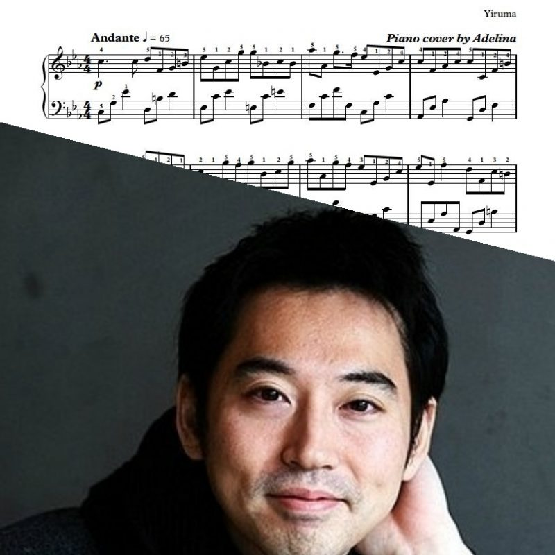 """When The Love Falls"" – Yiruma – Piano Sheet Music"