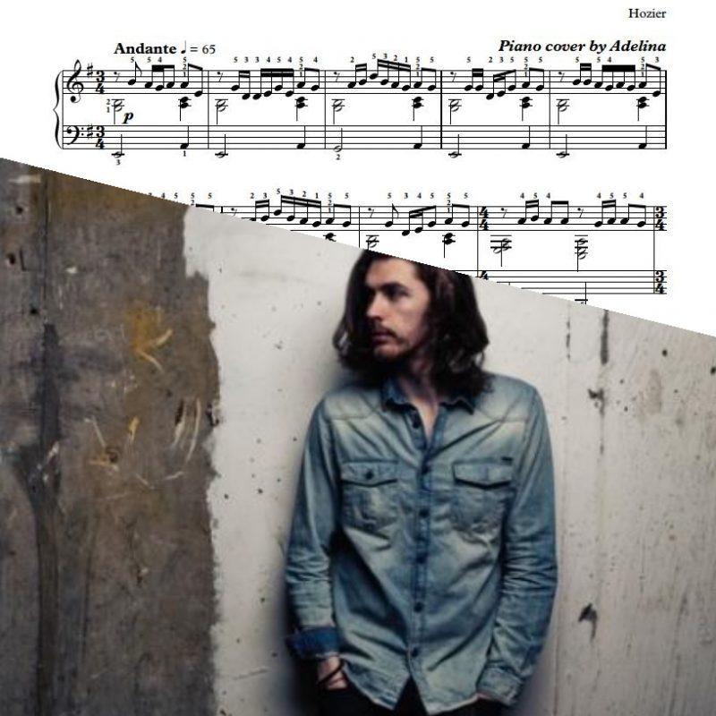 """""""Take Me To Church"""" – Hozier – Piano Sheet Music"""