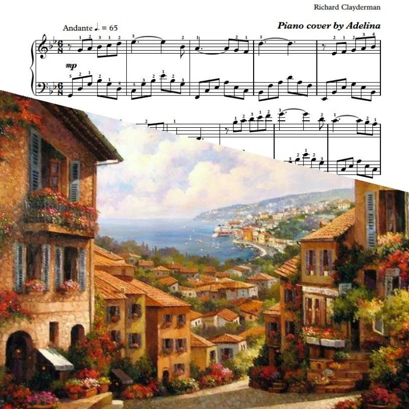"""Des Bles Sans Moisson"" – Richard Clayderman – Piano Sheet Music"