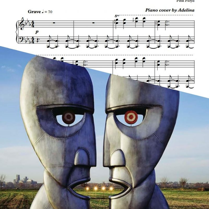 """High Hopes"" – Pink Floyd – Piano Sheet Music"