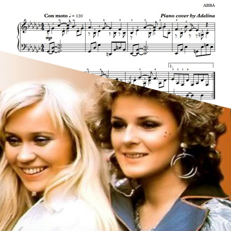 """The Winner Takes It All"" – ABBA – Piano Sheet Music"