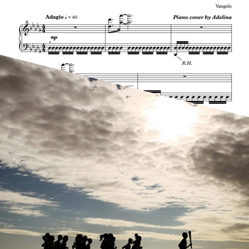 """Chariots Of Fire"" – Vangelis – Piano Sheet Music"