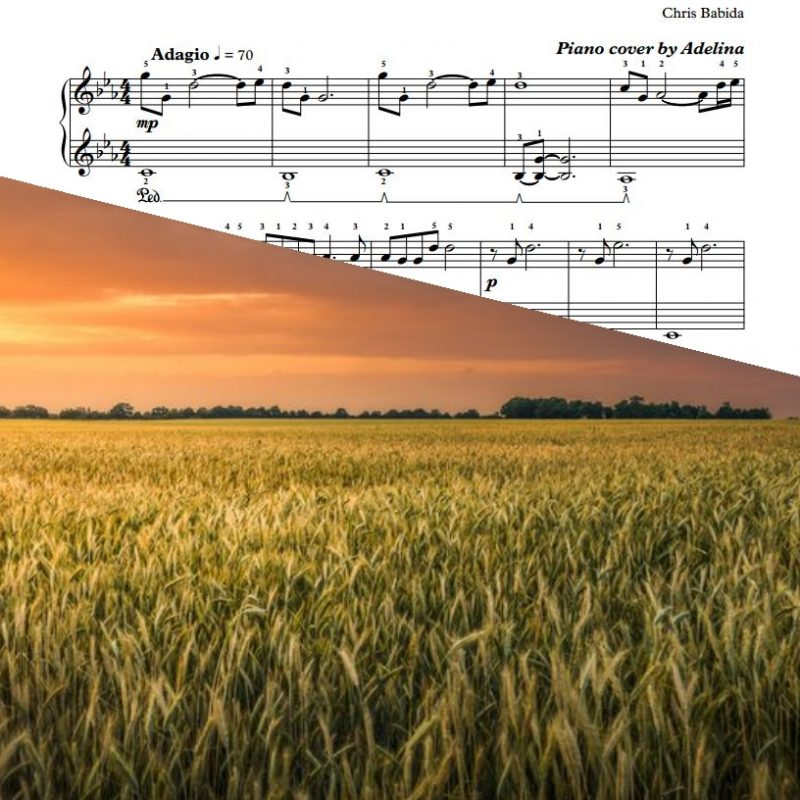 """Going Home"" – Chris Babida – Piano Sheet Music"