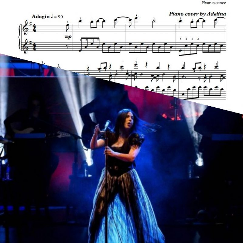 """Bring Me To Life"" – Evanescence – Piano Sheet Music"
